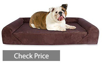 KOPEKS Orthopedic Bed with Memory Foam Lounge Bed for Dog
