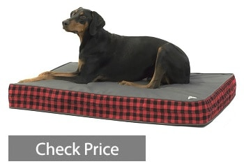 orthopedic dog bed thick supportive gel enhanced memory foam