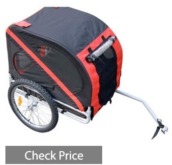 Aosom Elite Pet Bike Carrier