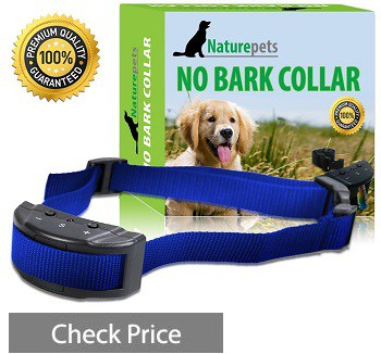 Naturepets No Bark Collar