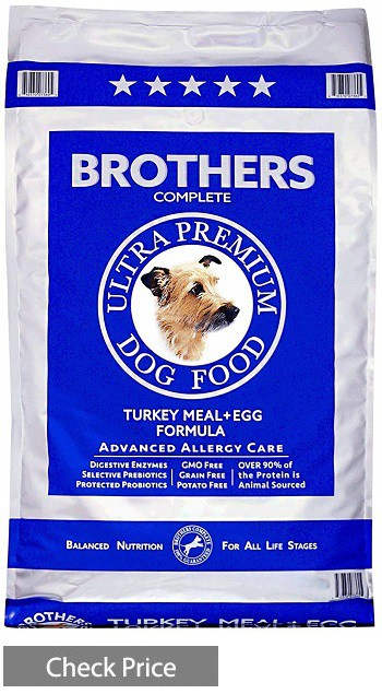 Brothers Complete Turkey Meal & Egg Formula Advanced Allergy