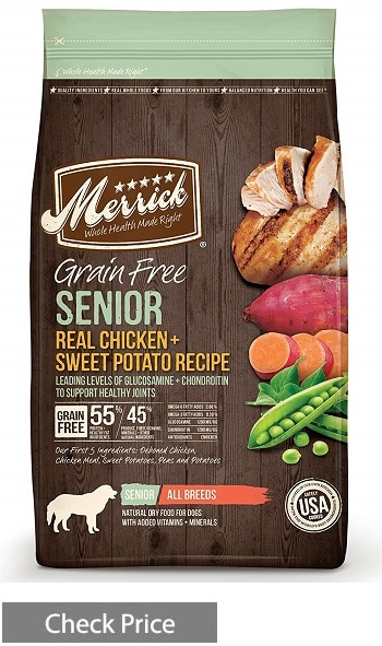Merrick Grain Free Senior Dry Dog Food