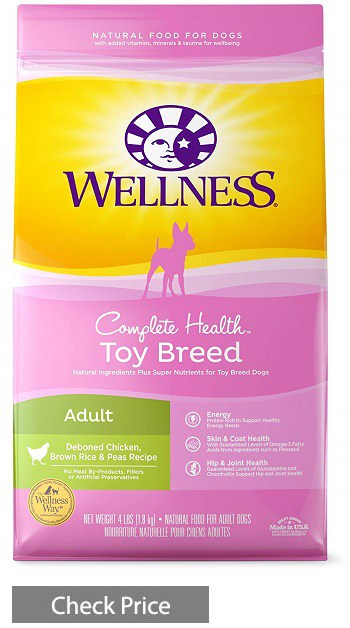 Wellness Complete Health Natural Toy Breed Formula Dry Dog Food