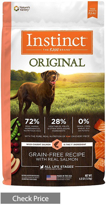 Nature's Variety Instinct Grain-Free Dog Food With Salmon