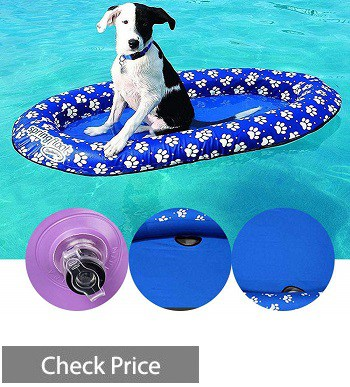 MOGOI Dog Pool Float Inflatable Raft