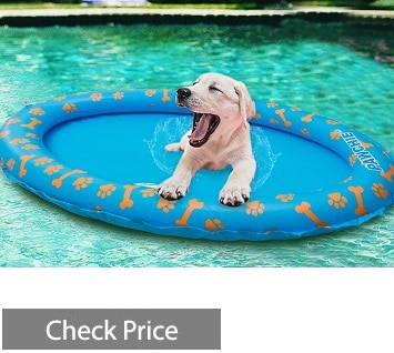 PAWCHIE Dog Pool Float Inflatable Raft