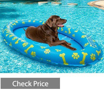 PUPTECK Dog Pool Float