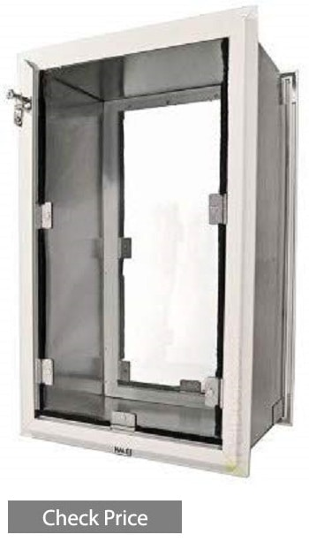 Hale Pet Doors Wall Model Double Flap