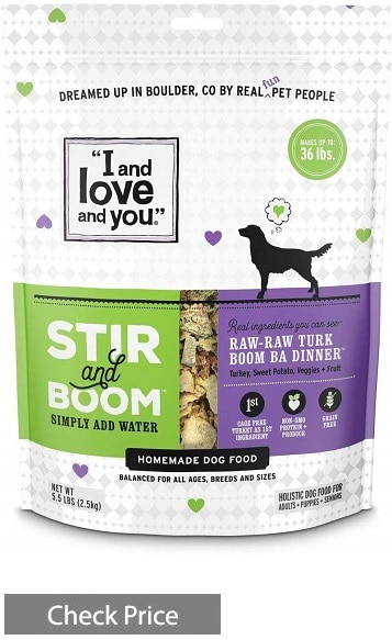 """I and love and you"" Nude Superfood Dry Dog Food"