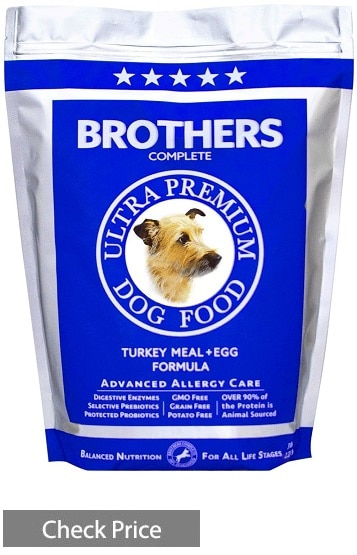 Brothers Complete Turkey & Egg Advanced Allergy Care Dog Food