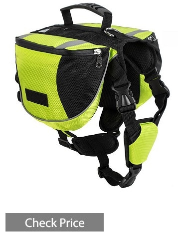 Lifeunion Adjustable Service Dog Supply Backpack