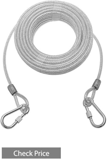 Mihachi Reflective Tie Out Cable