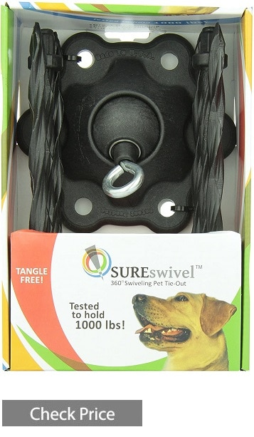 SUREswivel 360-degree Swiveling Pet Tie-Out